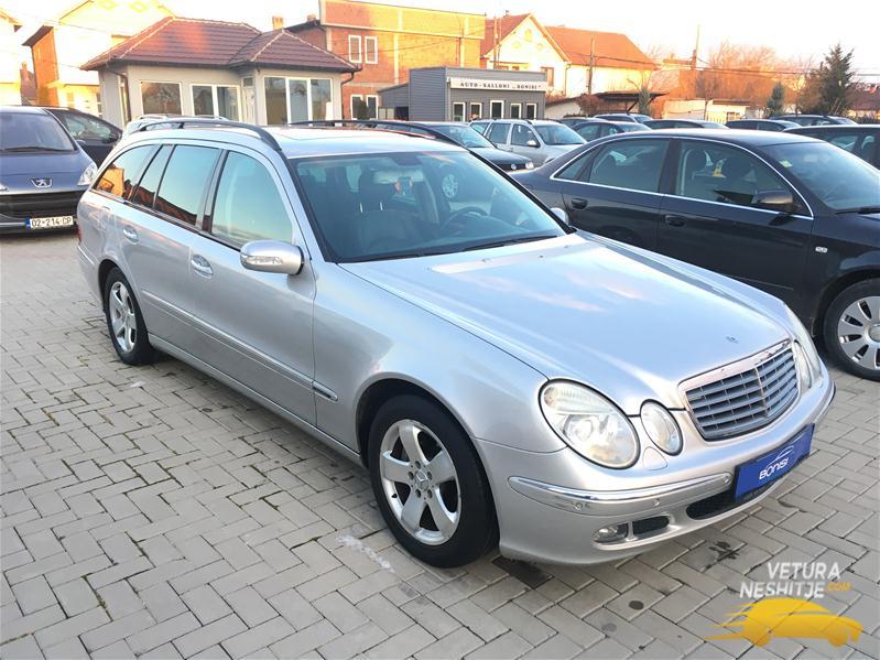 Mercedes e 320 viti 2006 avangard for Mercedes benz viti
